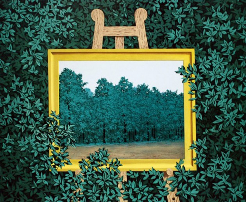 Rene-Magritte-La-Cascade-1961-as-a-muse